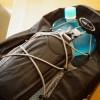 モンベルのフレックスウォーターパックを実際に使ってみたよ!持ち運びやすいし中も乾きやすい!