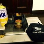 軽量ストーブといえばアルコールバーナー。トランギアのTRB25とヴァーゴのチタニウムヘキサゴンウッドストーブで湯沸かし!