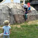 五月山公園で大パノラマなピクニック!日の丸展望台でボルダリング遊びもしてきたよ!