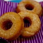 失敗は成功の元!ドーナッツを揚げてみました。まんまるの懐かしドーナッツ。