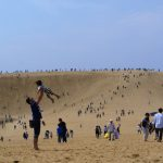 超巨大な砂場、鳥取砂丘へ日帰りドライブ!砂しかないというけど、砂だけでなかなか楽しいじゃないか!
