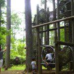 戸隠方面に行くなら小天狗の森で無料のアスレチックを楽しもう!自然を堪能できる全32コース!