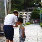 ポケモンGoを口実に山キッズたちと早朝の加賀温泉を散歩してきたよ!