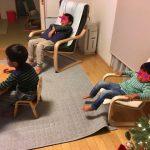 IKEAのアームチェア、ポエングを買いました!ついでに子供用も!