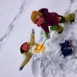 子供はやっぱり雪遊びが大好き!